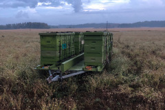 Moving apiary